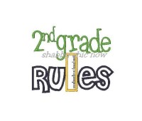 2nd grade RULES