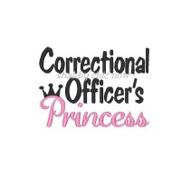 Correctional Officer's Princess with crown