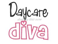 Daycare diva Applique