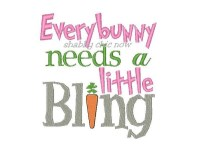 Everybunny needs a little Bling
