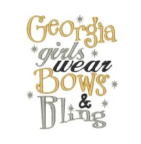 Georgia girls wear Bows and Bling