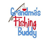 Grandma's Fishing Buddy