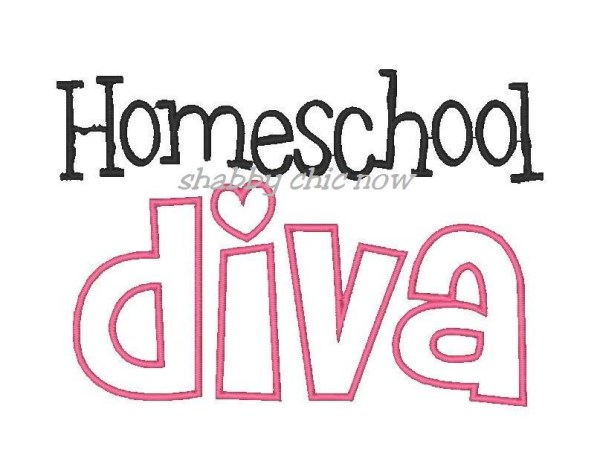 Homeschool Embroidery Design