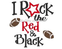 I Rock the Red & Black
