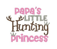 Papa's Little Hunting Princess