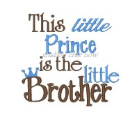 This little Prince is the little Brother