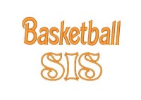Basketball SIS Applique