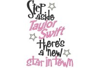 Step aside Taylor Swift there's a new star in town  ONLY AVAILABLE IN 5x7