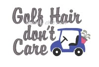 Golf Hair don't Care