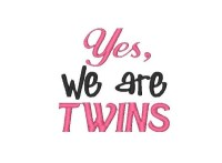Yes, we are TWINS